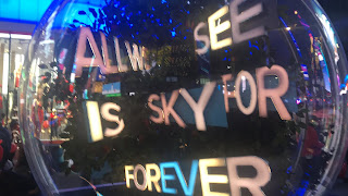 All I See Is Sky Dear Evan Hansen Snow Globe Times Square New York City