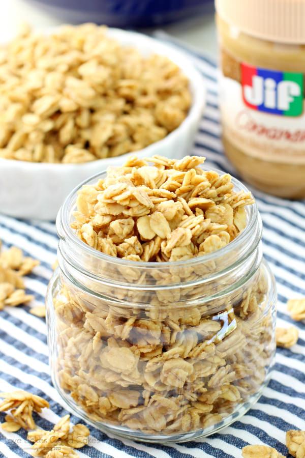 Peanut Butter Granola picture
