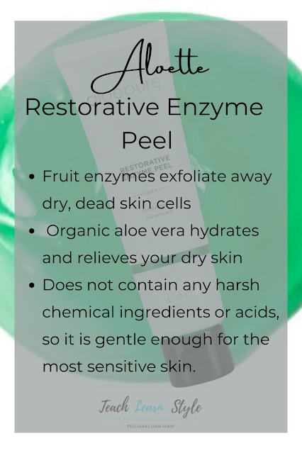 best aloette products, aloette review, aloette restorative enzyme peel, aloette skincare, aloette exfoliator, aloette enzyme peel ingredients