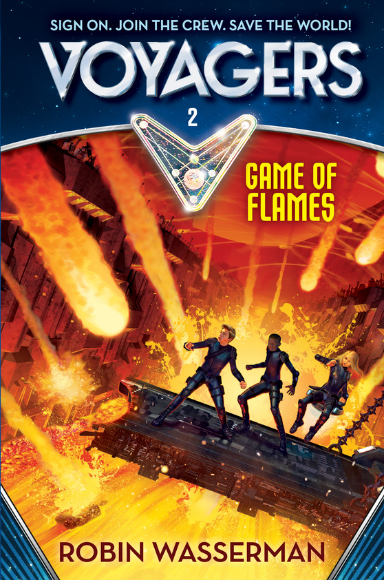 Voyagers: Game of Flames (Book 2)-ExLibrary