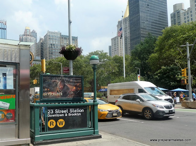 metro de Nueva York