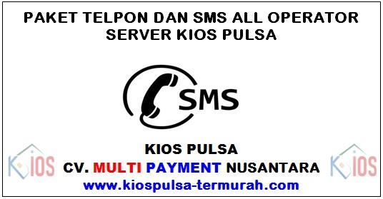 Paket Telpon dan SMS Murah Kios Pulsa