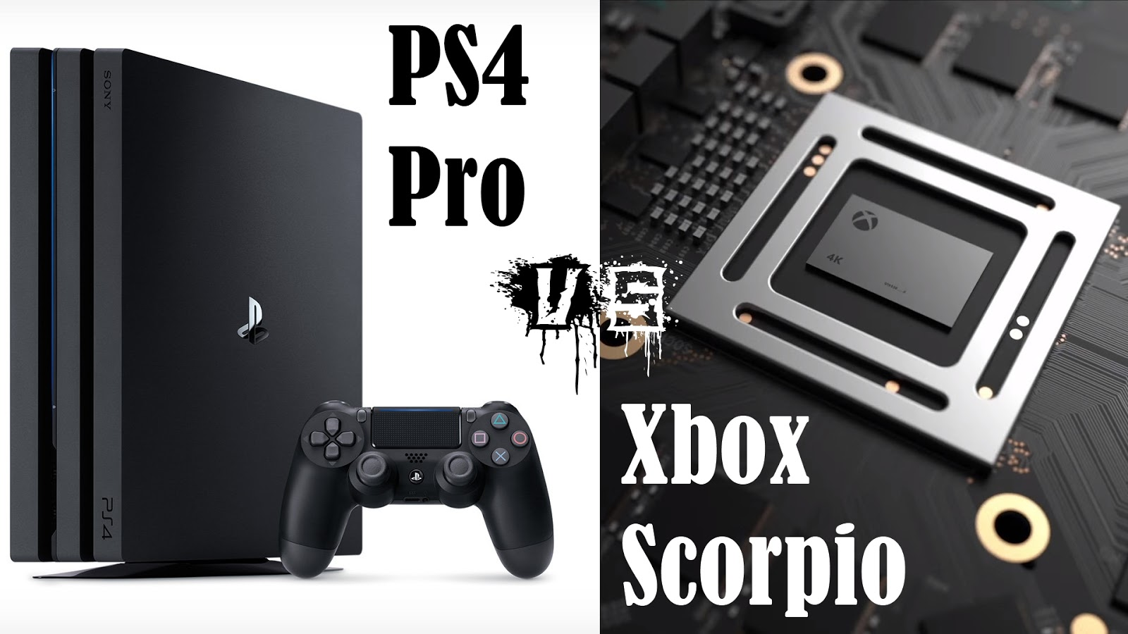 vebos ps4 pro  The Movie Sleuth: Videos: Xbox Scorpio vs PS4 Pro Specs - The FINAL ...