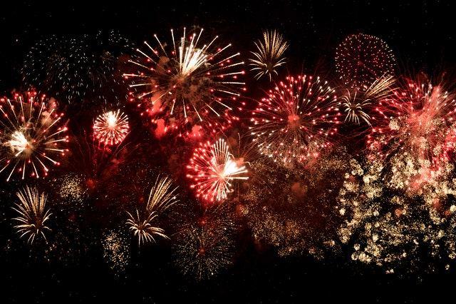 Fireworks to celebrate Philippine festivals
