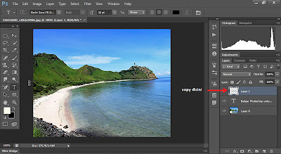 efek teks transparan, menyatu dengan background, belajar photoshop, cs6,