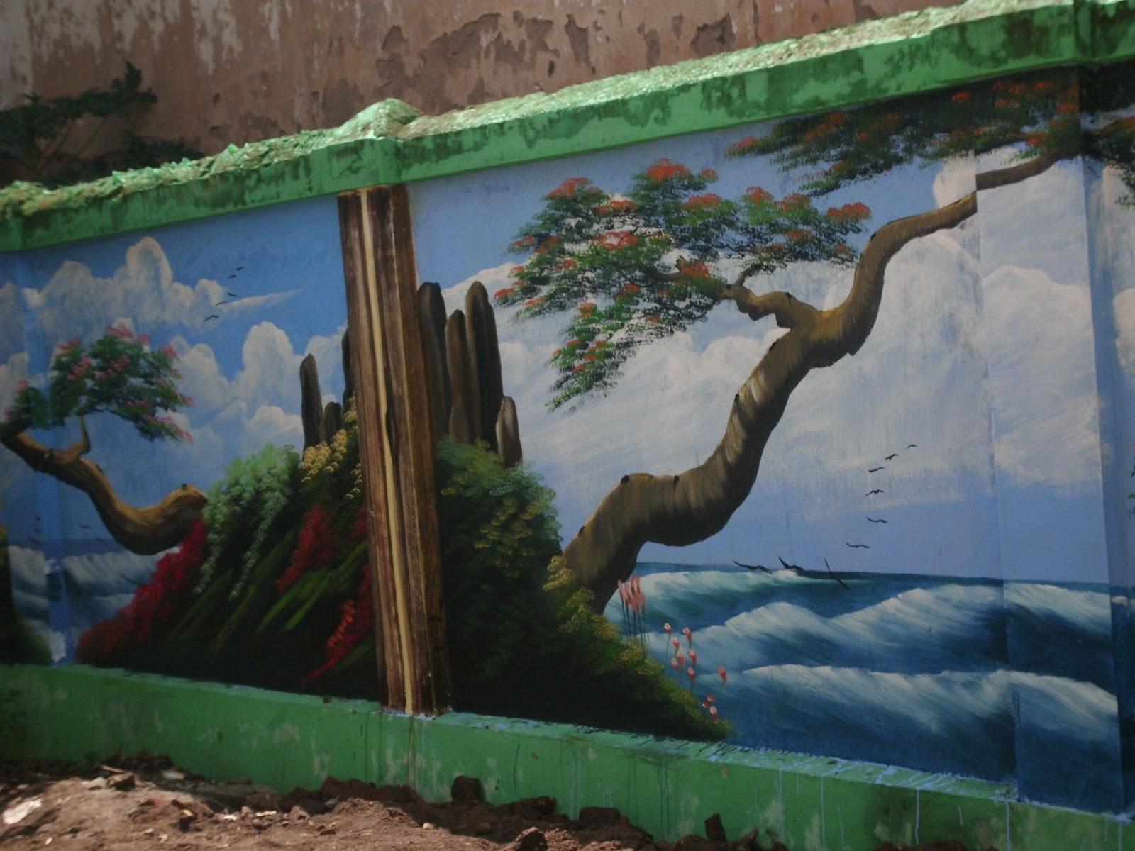 Gambar Pemandangan Alam Karya Anak Sd Bliblinews Index Wp Smp