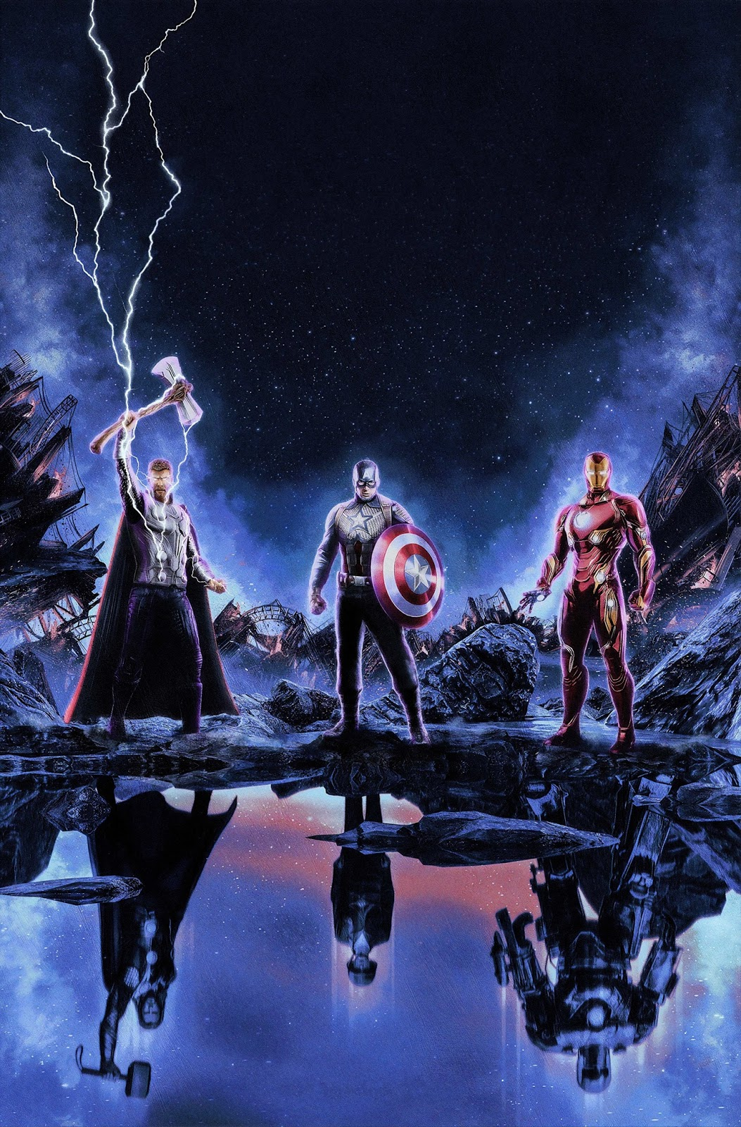 Marval - MCU - CaptainAmerica -IronMan -Thor - BlogFanArt