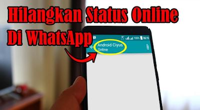 Trik Rapi Tidak Muncul Status 'Online' di WhatsApp, Begini Caranya