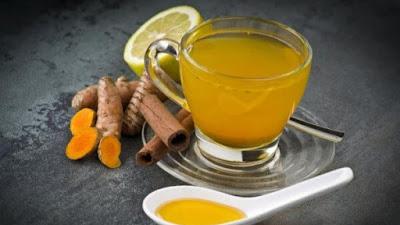 Lima Manfaat Minum Teh Herbal Kunyit