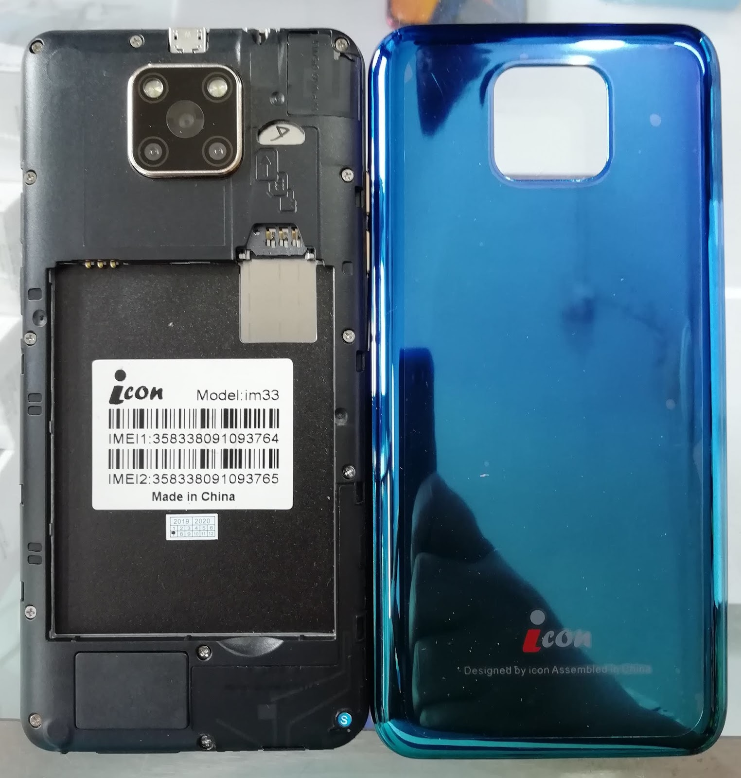 FAISAL GSM: ICON im33 FLASH FILE MT6580 5 1 DEAD FIX STOCK