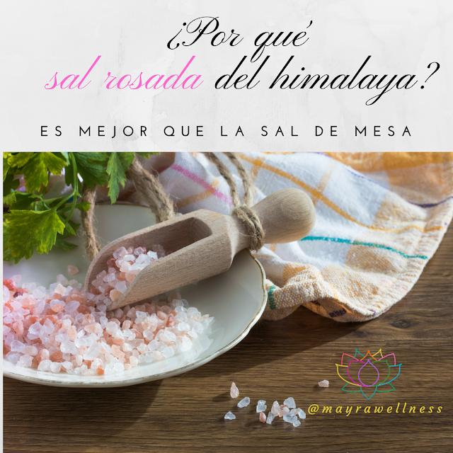 ¿Por qué la sal rosada del Himalaya es mejor que la sal de mesa?