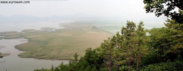 Panorámica de la Bahía Suncheonman