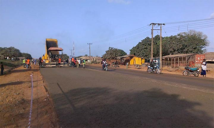 Photos: Work resumes on Ilorin-Mokwa-Jebba Road