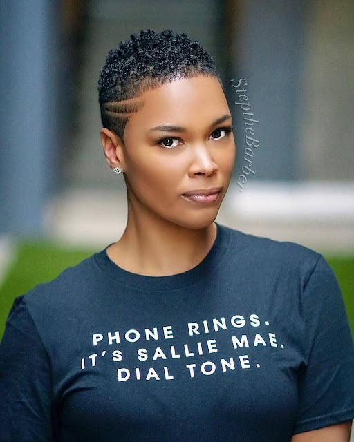 2019 Gorgeous Short Haircut for Black Women