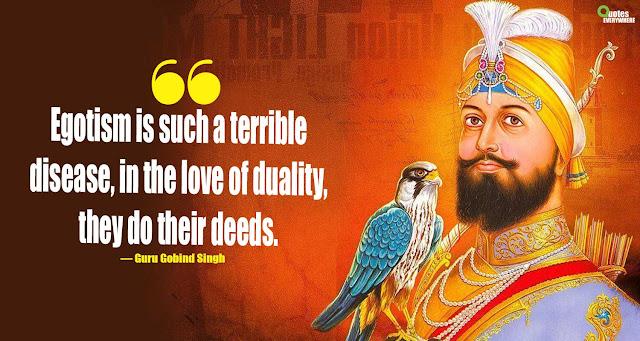 Guru Gobind Singh Quotes Sava Lakh