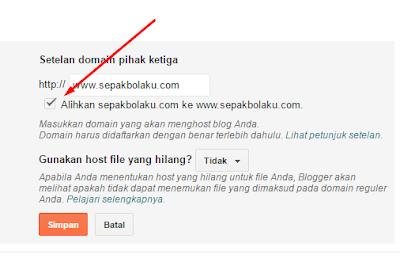TUTORIAL Mengganti Domain Blog dengan Domain Sendiri 53