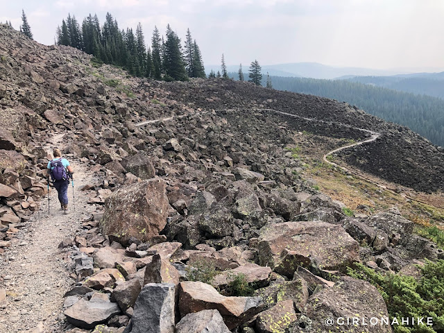 Hiking the Crag Crest Trail, Grand Mesa, Colorado