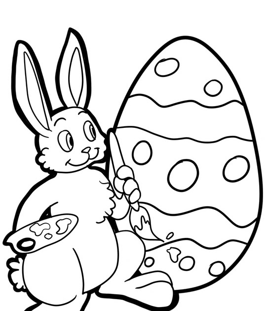 Fábrica dos Convites: Desenhos para colorir: Páscoa