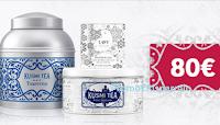 Logo Kusmi Tea ''Caccia al Tresoro'': vinci gratis una gift card da 80€