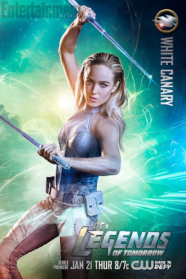 DC's Legends of Tomorrow Character Television Poster Set - Caity Lotz as White Canary