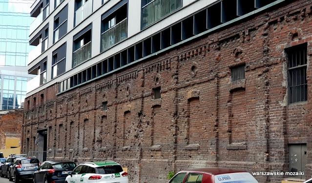 mur getta ślady po kulach pociskach Wola Warszawa Warsaw historia zabytek