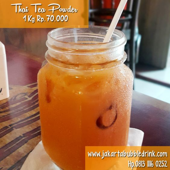 Supplier Bubuk Thai Tea