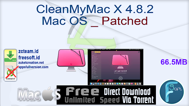 CleanMyMac X 4.8.2 Mac OS _ Patched