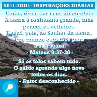 #011-IDD1- Ideia do Dia 1