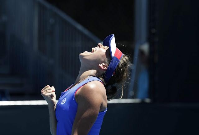 HD Photos of Barbora Strycova Australian Open Tennis Tournament 2018 Melbourne