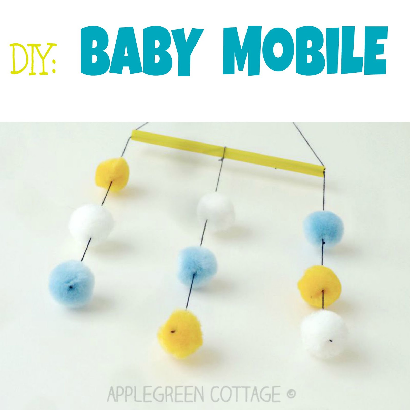 How To Make DIY Crib Mobile - Easy & Cute