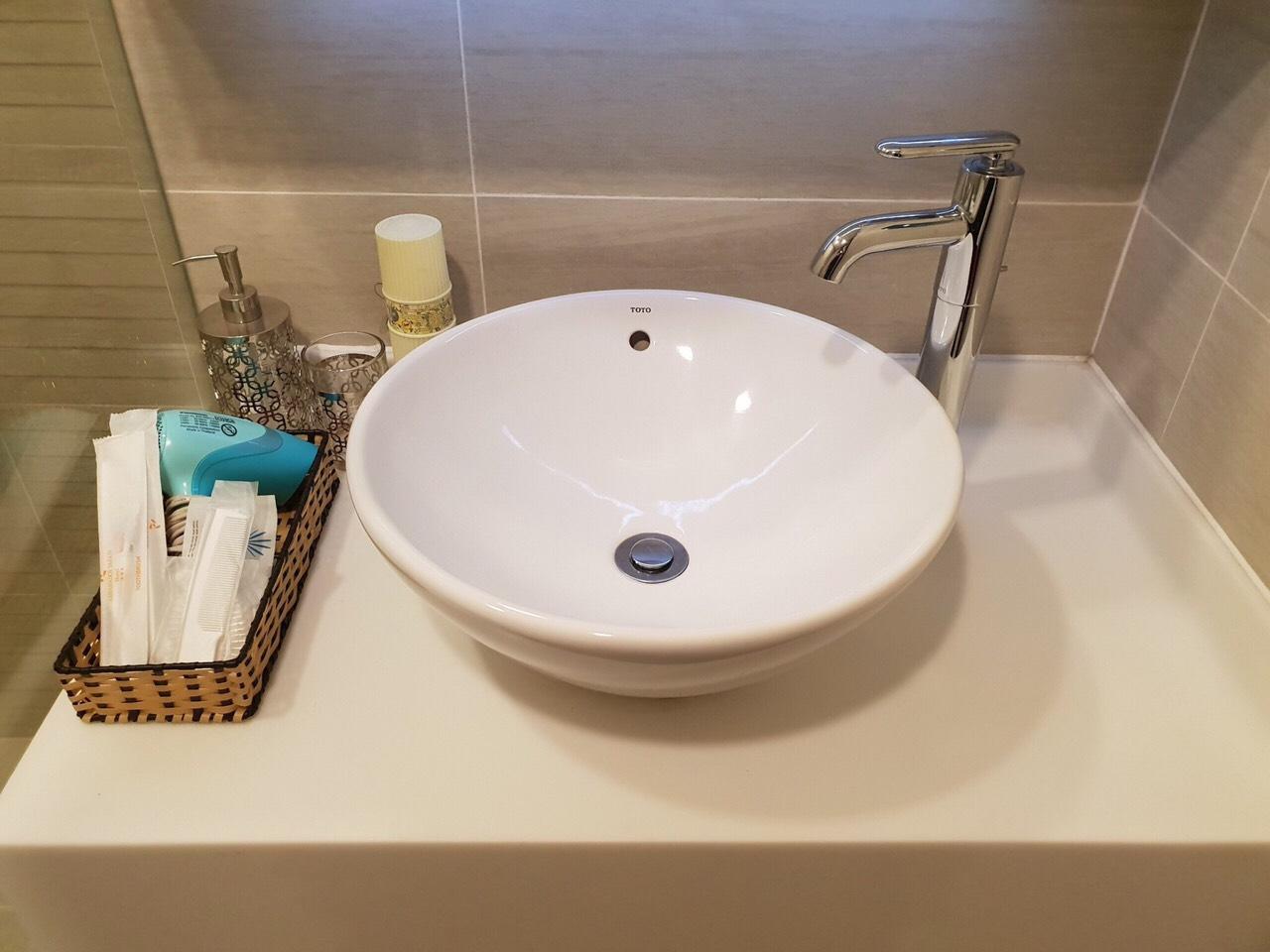 Phòng tắm căn hộ Vinhomes Central Park sạch sẽ