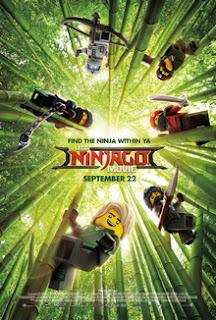 Lego Ninjago Movie poster