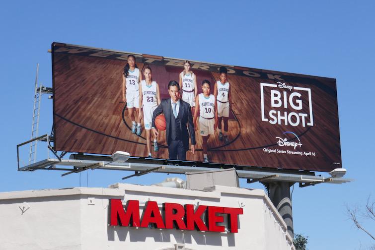 Big Shot series launch billboard