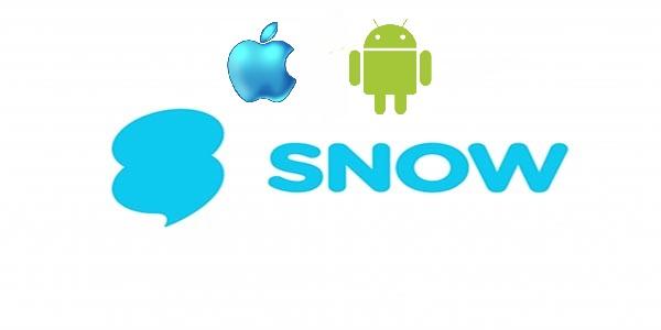 تحميل تطبيق SNOW سنو للأندرويد والايفون  مجانا