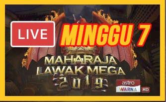 Live Streaming Maharaja Lawak Mega 13.12.2019 (MINGGU 7).