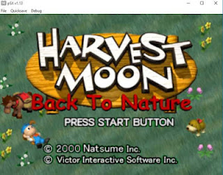 Game Harvest Moon PS1 Berjalan Pada PC