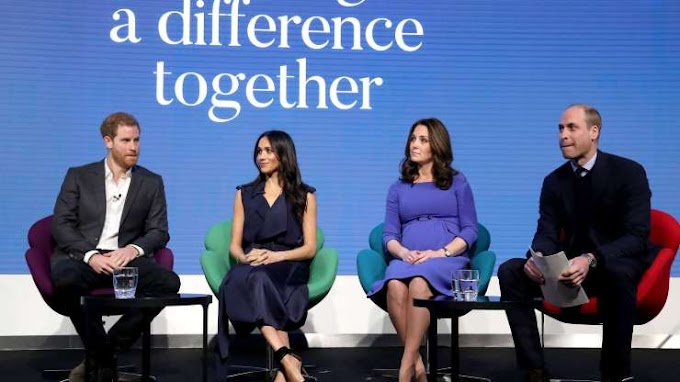Wills, Kate, Harry and Meghan in TV ad for mental health campaign