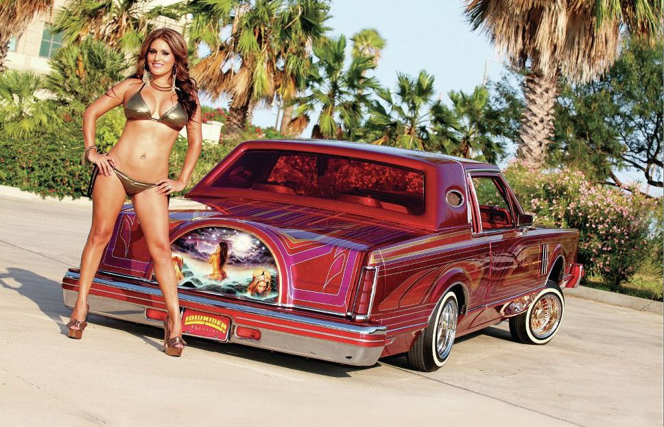 Lowrider girl getting fuck — pic 2
