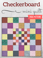 Checkerboard Mini Quilt Pattern | Free Download