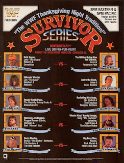 WWF / WWE SURVIVOR SERIES 1989 - poster