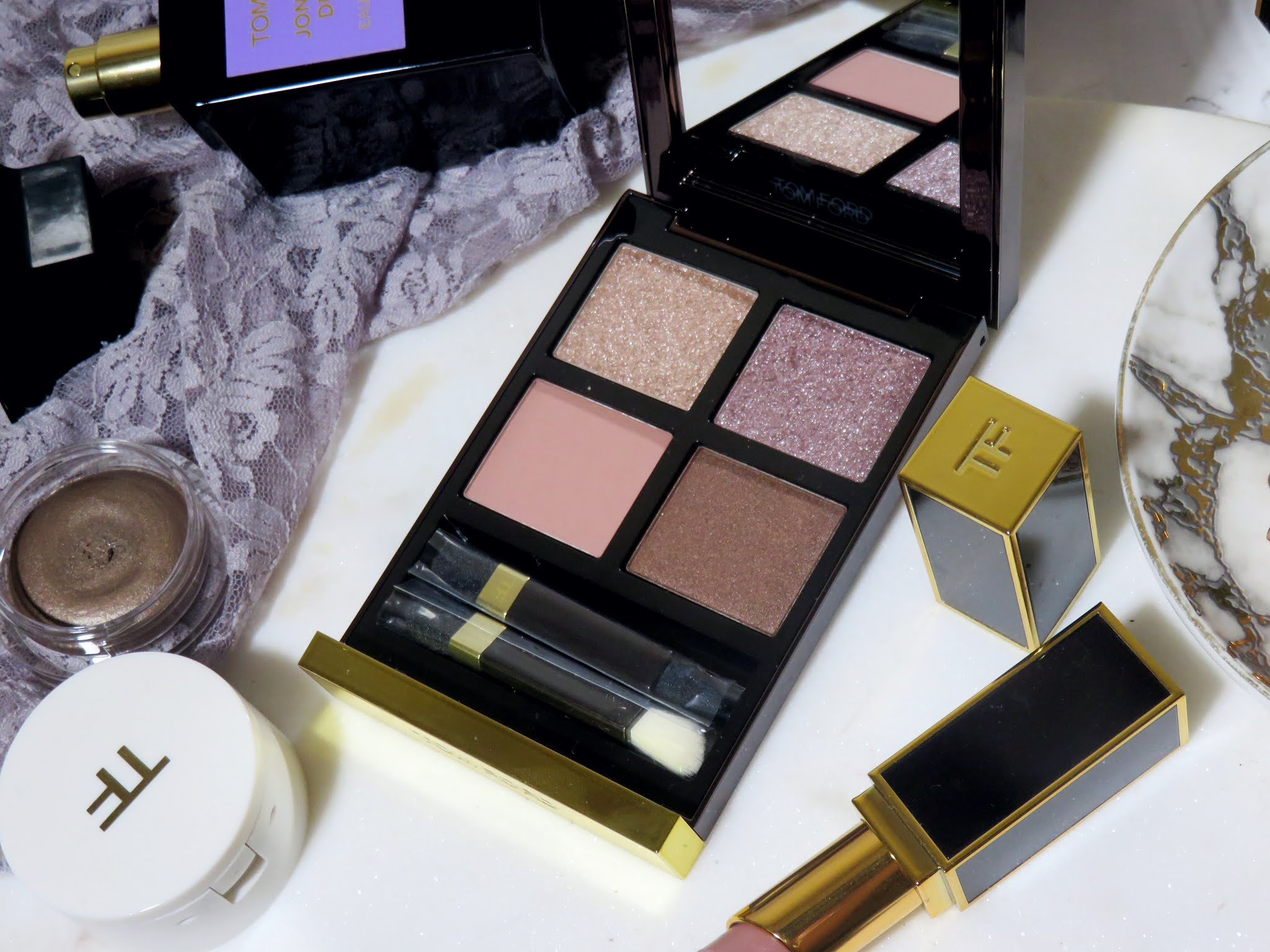 Tom Ford Meteoric Eye Color Quad Review and Swatches