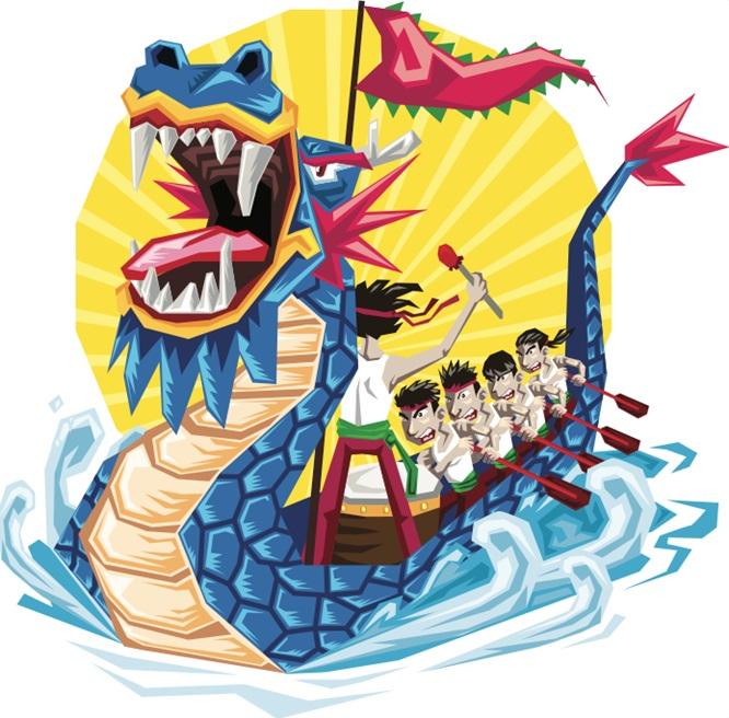 เทศกาลบ๊ะจ่าง (Dragon Boat Festival)