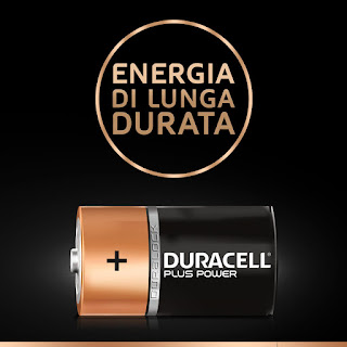 batterie duracell torcia d2 plus power