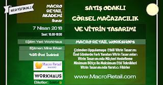 Görsel Mağazacılık ve Vitrin Eğitimi VM Eğitimi