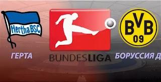 Герта - Боруссия Дортмунд смотреть онлайн бесплатно 30 ноября 2019 прямая трансляция в 17:30 МСК.