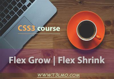 الجزء الرابع من درس flex box في لغة Css3