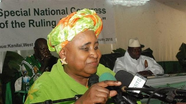 Gambia's vice president Isatou Njie Saidy steps down amid growing political crisis