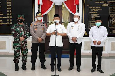 Kepala Staf Kepresidenan RI Apresiasi Kinerja Forkopimda Kabupaten Sampang Dalam Penanganan Covid-19