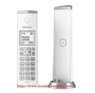 Điện thoại không dây Panasonic KX-TGK210 thiết kế độc đáo, sang trọng