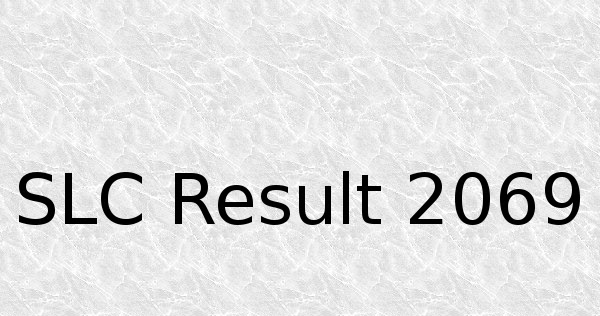 SLC Result 2069/2070 (2012-2013) to Publish by Wednesday